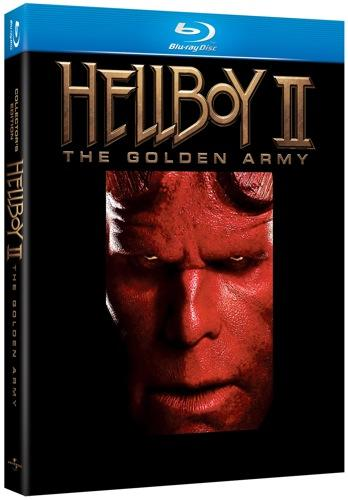 Hellboy II BLU-RAY  COVER