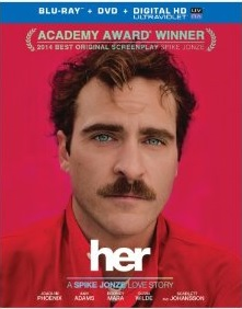 Her (Blu-ray + DVD + Digital HD UltraViolet Combo Pack)