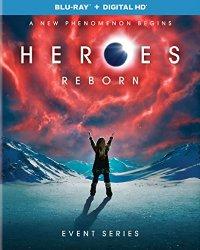Heroes Reborn Event Series(Blu-ray + DVD + Digital HD)