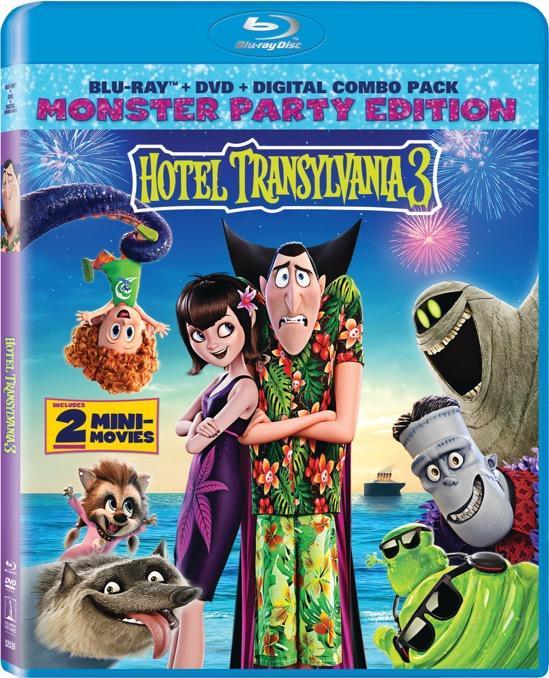 HOTEL TRANSYLVANIA 3 Blu-ray