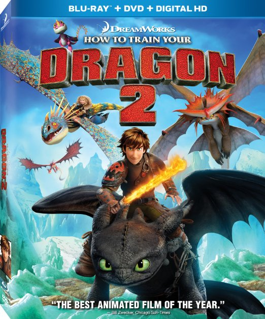 How to Train Your Dragon 2 (Blu-ray + DVD + Digital HD)