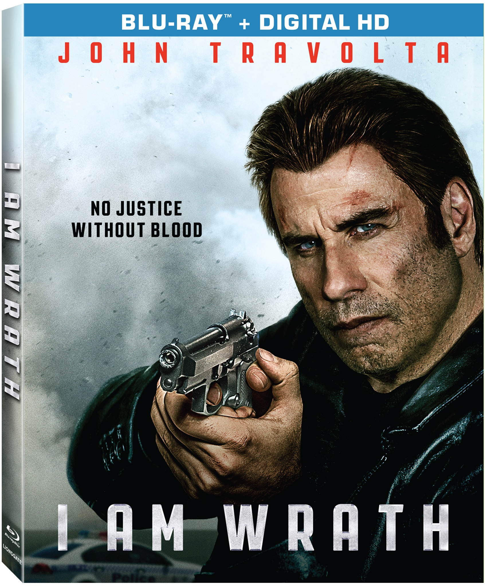 I AM WRATH Blu-ray