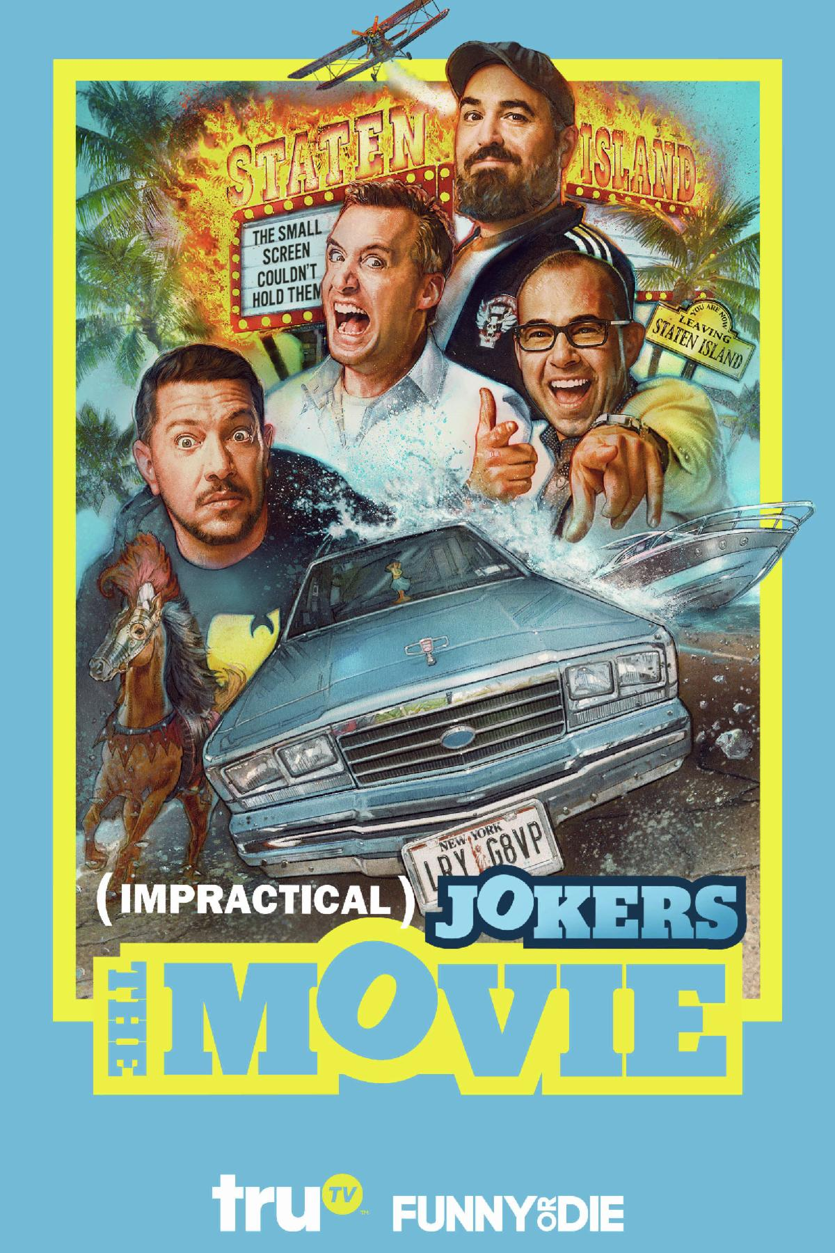 Impractical Jokers The Movie Blu-ray Review