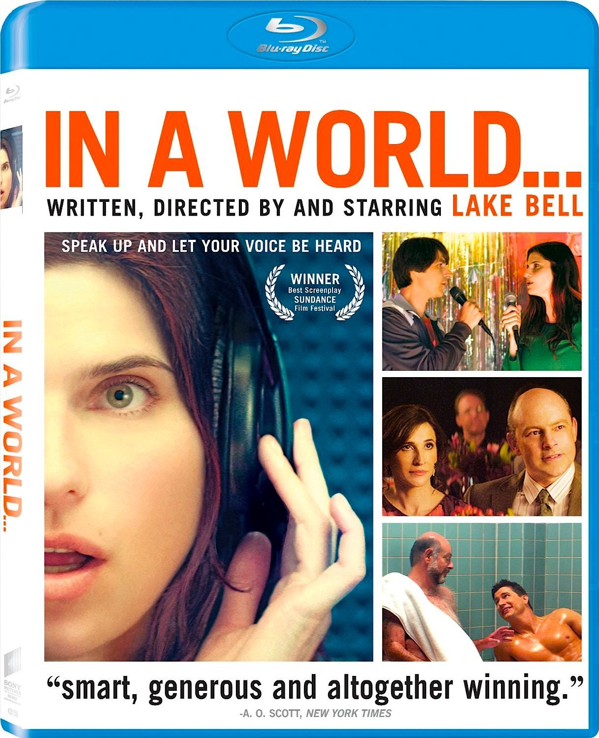In a World Blu-ray Review