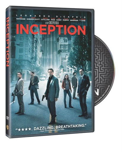 inception dvd and blu