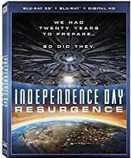 Independence Day Resurgence Blu-ray