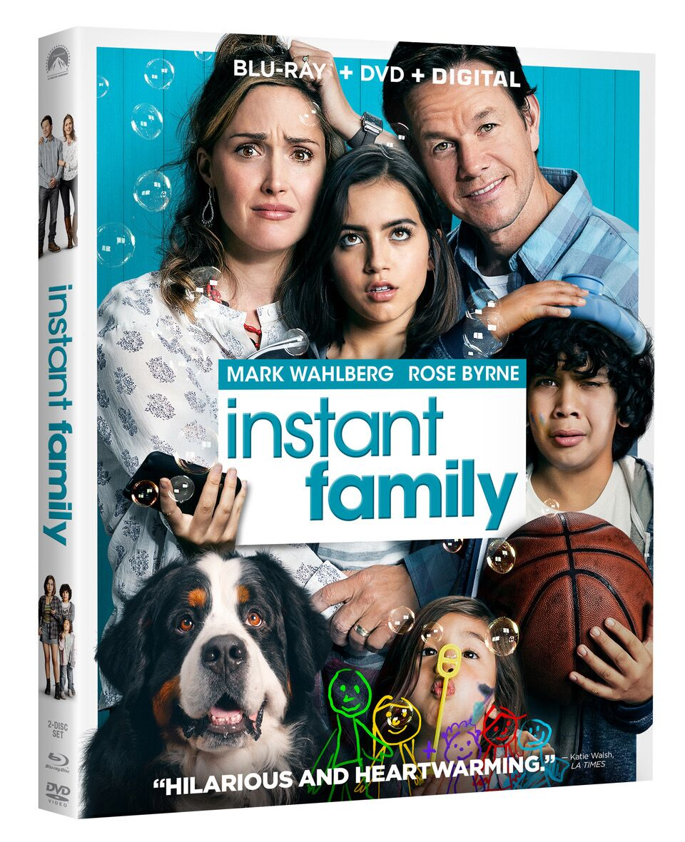 Instant Family Blu-ray Review