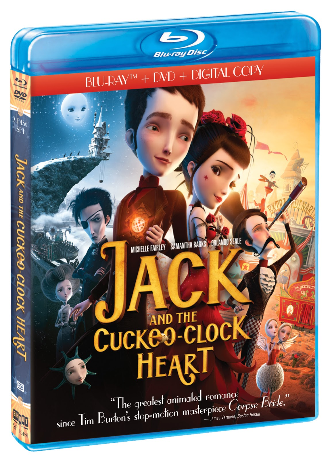 Jack and The Cuckoo Clock Heart Blu-ray