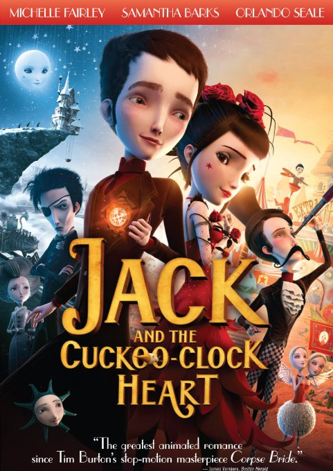 Jack and The Cuckooo Clock Heart (Blu-ray + DVD + Digital HD)