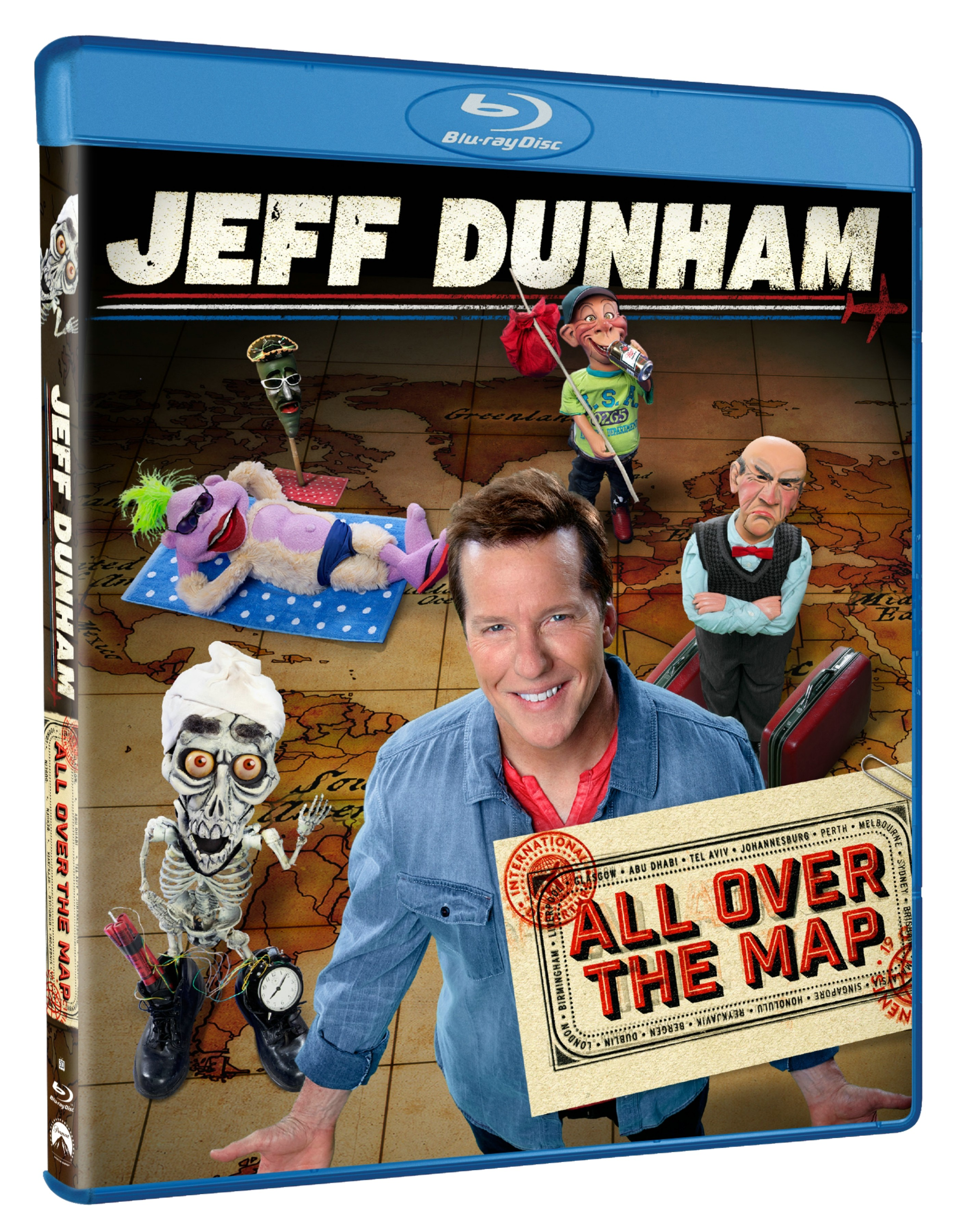 Jeff Dunham All Over The Map Blu-ray Review