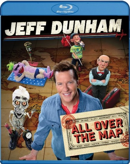 Jeff Dunham All Over The Map (Blu-ray + DVD + Digital HD)