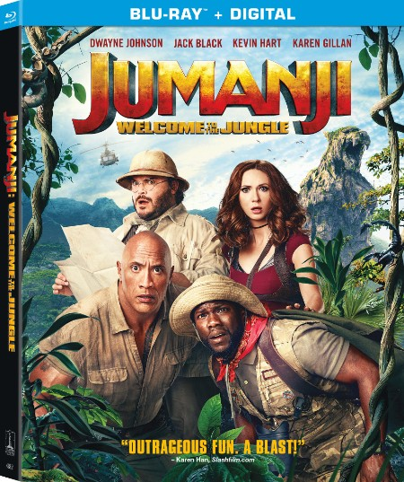 JUMANJI WELCOME TO THE JUNGLE Blu-ray