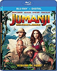 Jumanji Welcome to The  Jungle (Blu-ray + DVD + Digital HD)