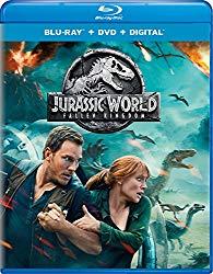Jurassic World Fallen Kingdom (Blu-ray + DVD + Digital HD)