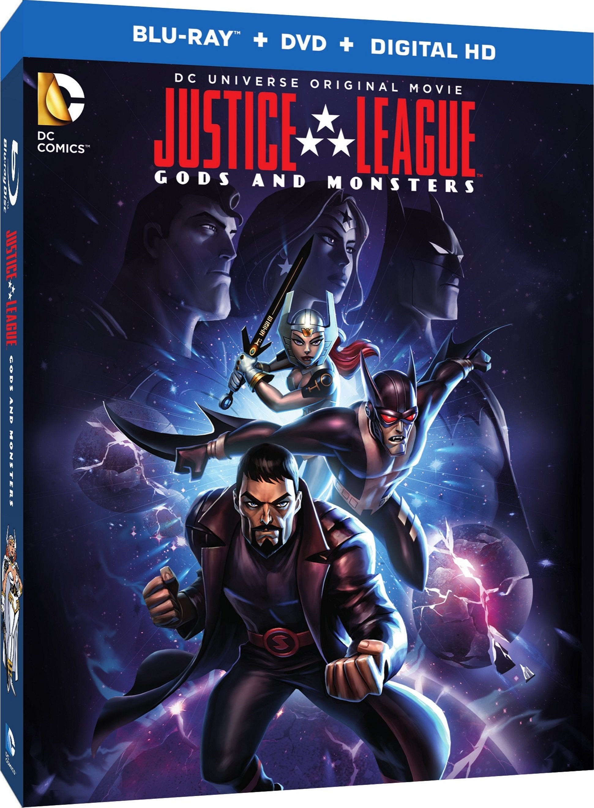 Justice League Gods and Monsters Blu-ray Review