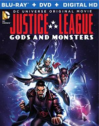 Justice League Gods and Monsters (Blu-ray + DVD + Digital HD)