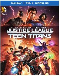 Justice League vs Teen Titans (Blu-ray + DVD + Digital HD)