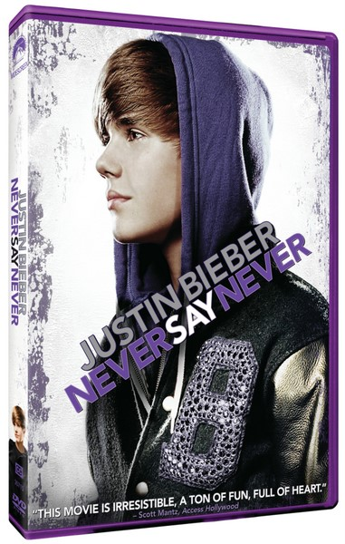 justin bieber never say never movie dvd. JUSTIN BIEBER: Never Say Never