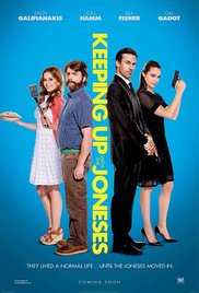 Keeping Up With The Joneses (Blu-ray + DVD + Digital HD)