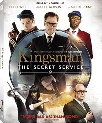 Kingsman Secret Service (Blu-ray + DVD + Digital HD)