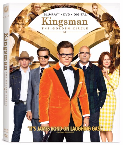 Kingsman 2: The Golden Circle Blu-ray