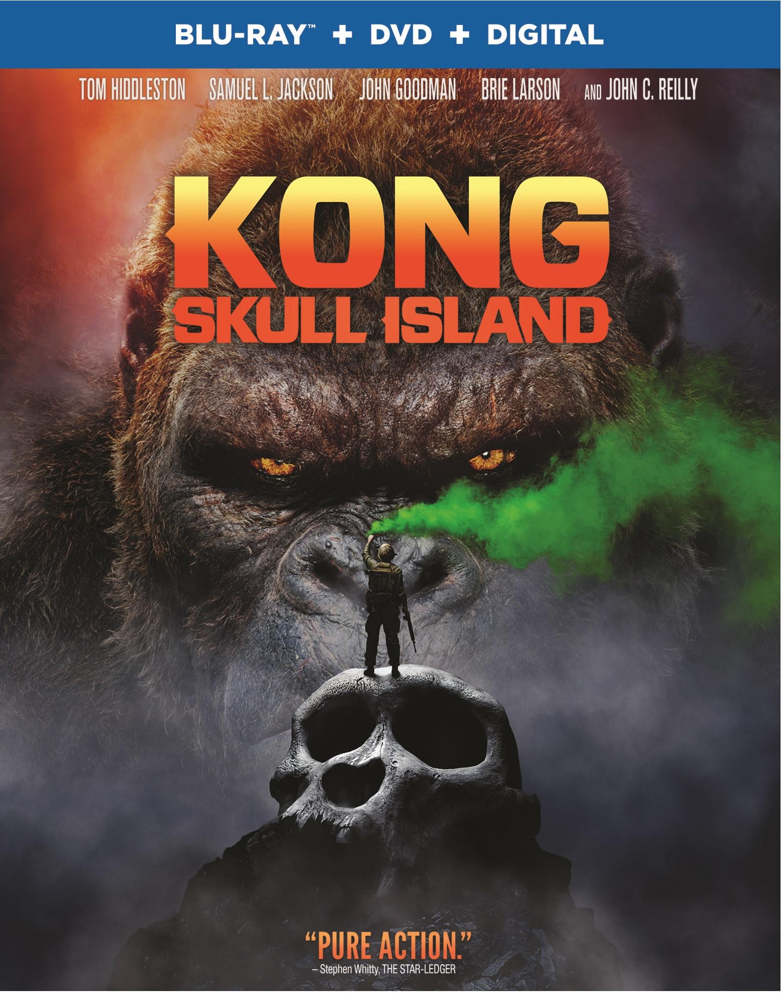 Kong Skull Island Blu-ray