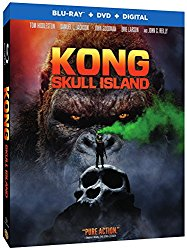 Kong Skull Island (Blu-ray + DVD + Digital HD)