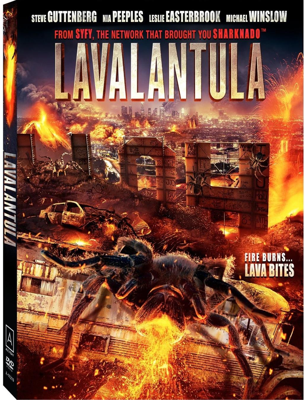 lavalantula DVD Review