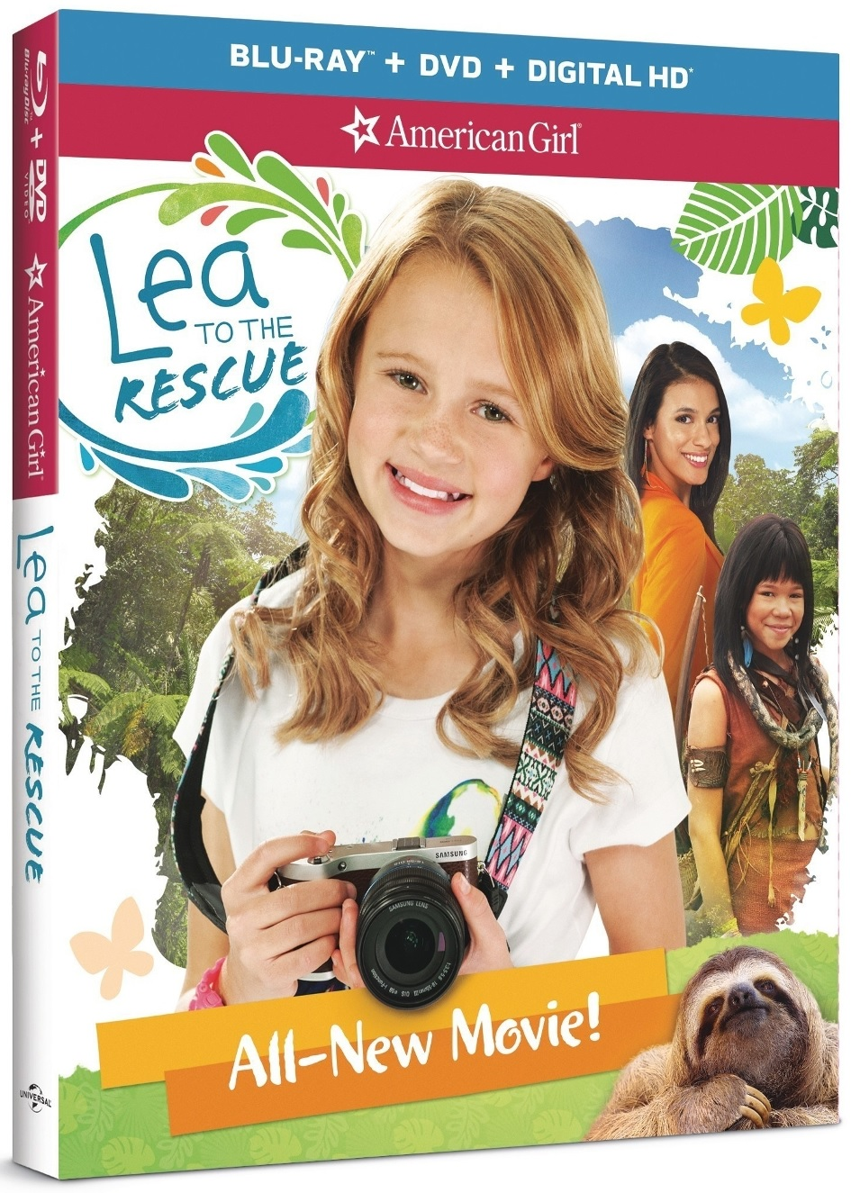 American Girl: Lea To The Rescue Blu-ray Review
