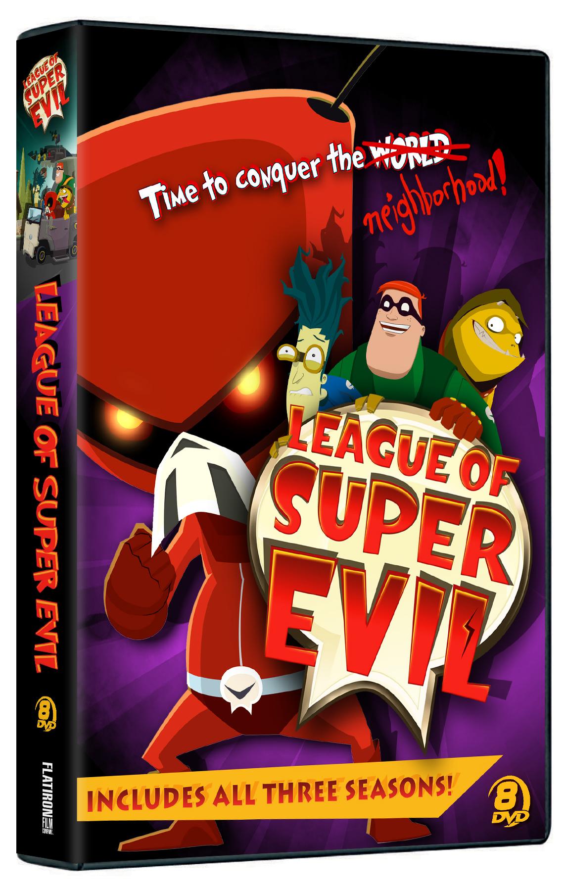 League of Super Evil Megaset DVD Review
