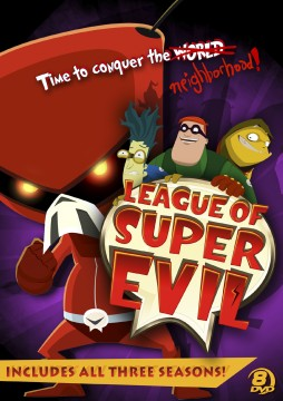 League of Super Evil DVD