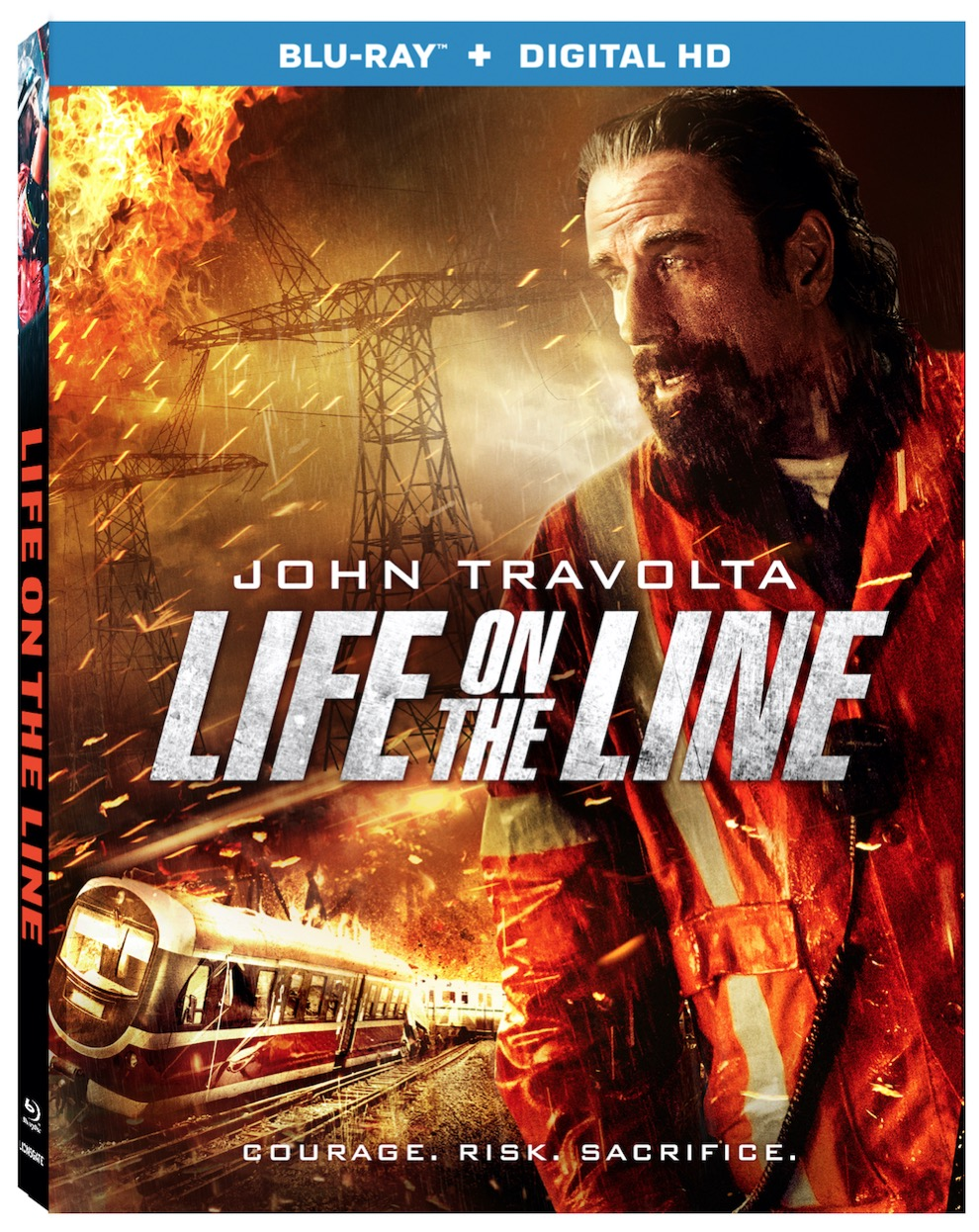 LIFE ON THE LINE Blu-ray
