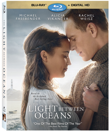 THE LIGHT BETWEEN OCEANS Blu-ray
