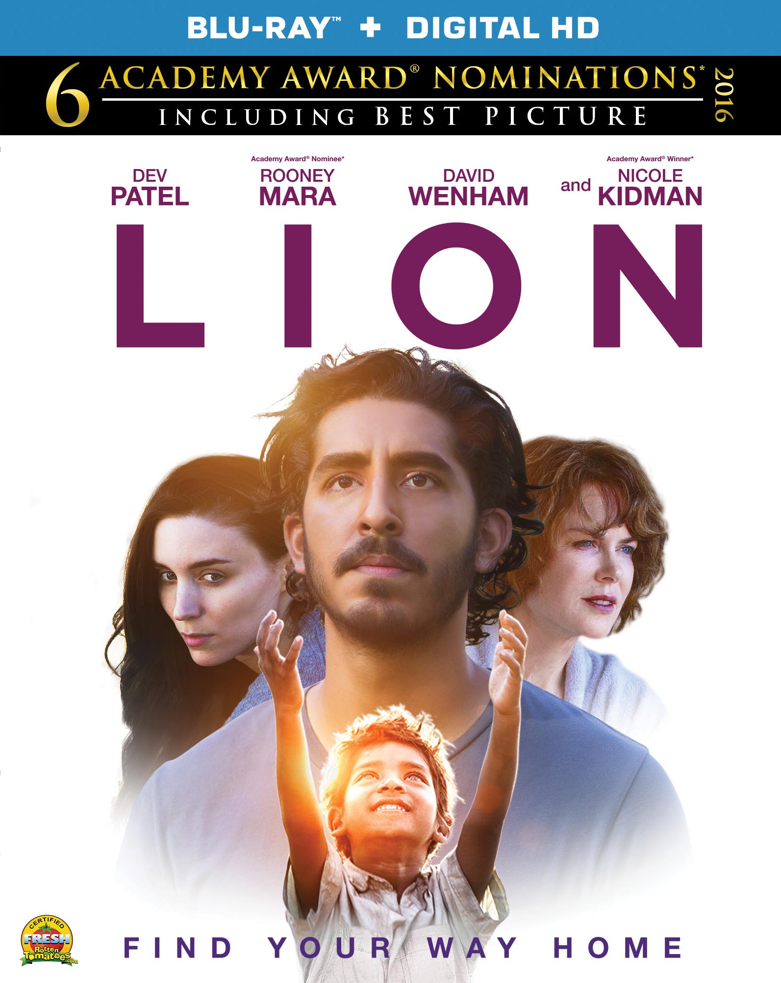 Lion Blu-ray Review