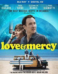Love and Mercy Blu-ray Cover