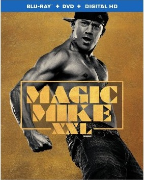 Magic Mike XXL Blu-ray Cover