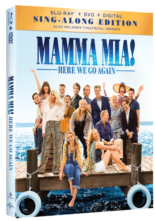 MAMMA MIA HERE WE GO AGAIN Blu-ray