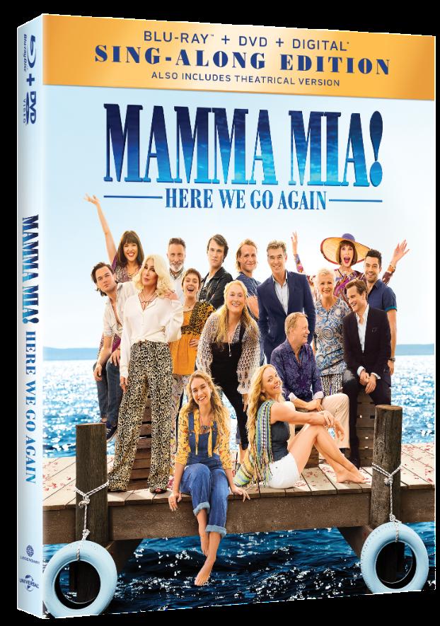 MAMMA MIA HERE WE GO AGAIN Blu-ray