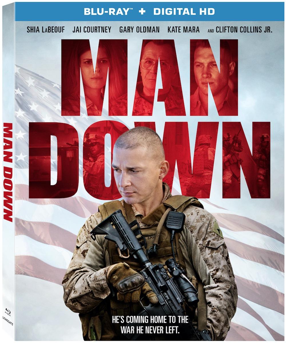 MAN DOWN Blu-ray