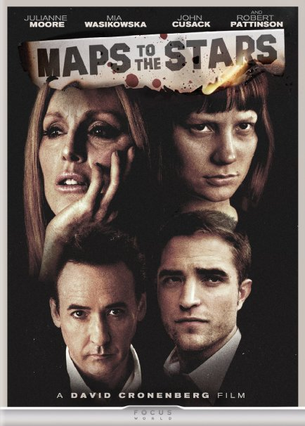 Maps to the Stars DVD Review