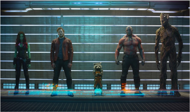 Marvel Guardians of The Galaxy Film