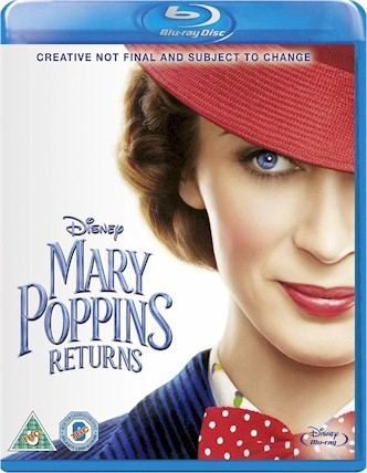 Mary Poppins Return(Blu-ray + DVD + Digital HD)