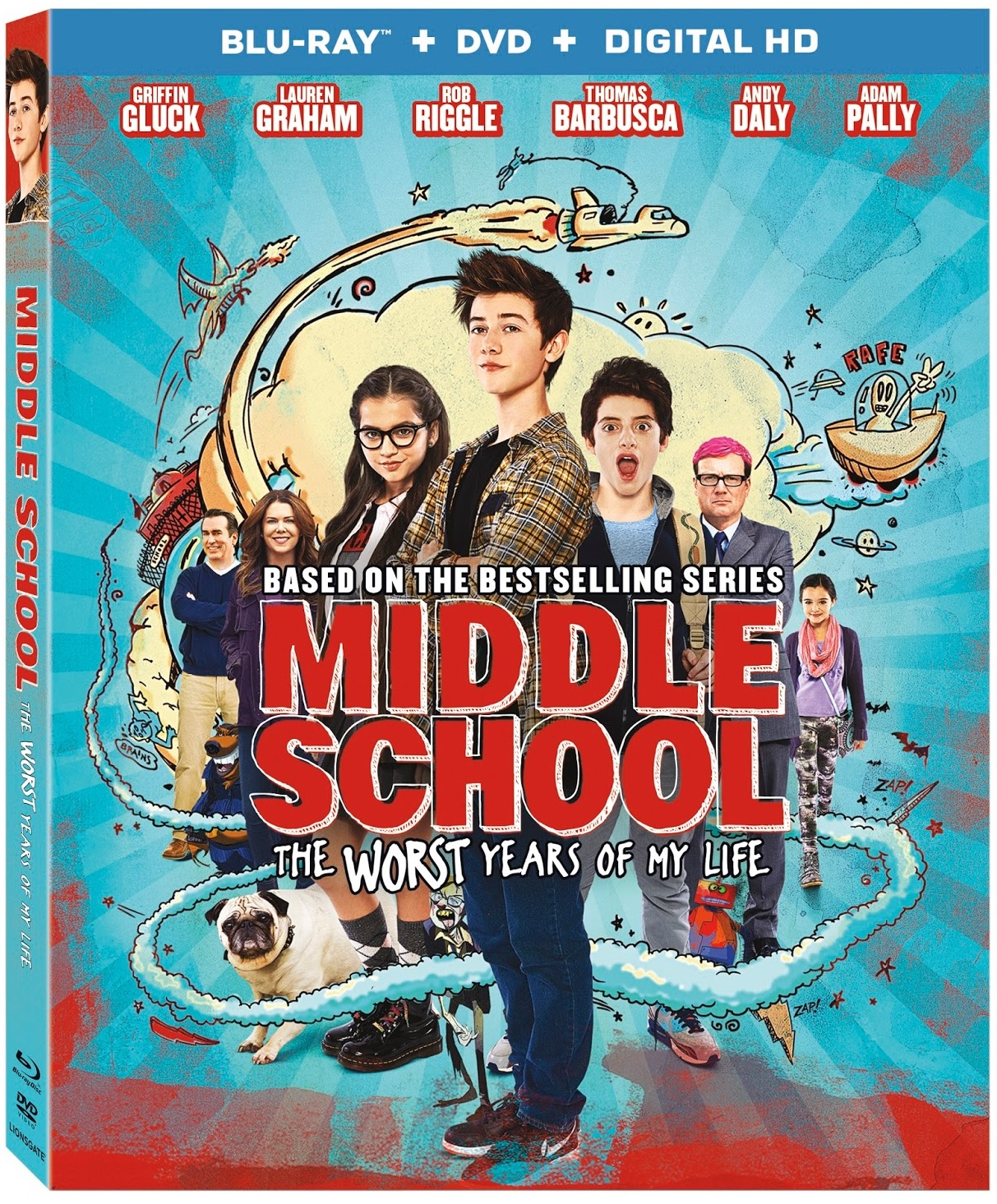 Middle School The Worst Years of My Life Blu-ray Review