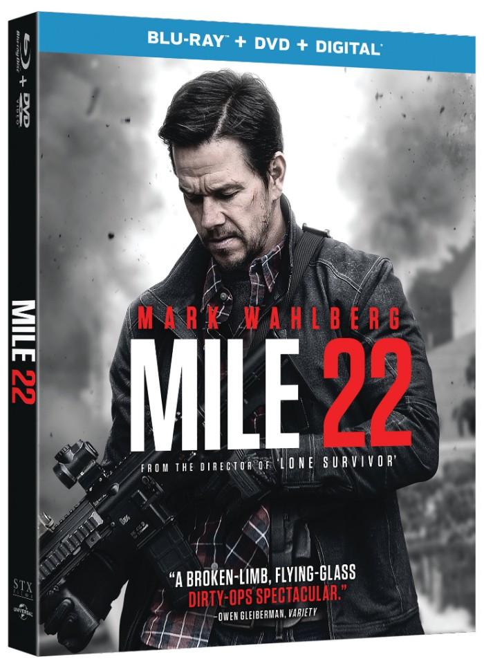 MILE 22 Blu-ray