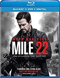 Mile 22 (Blu-ray + DVD + Digital HD)