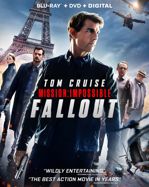Mission Impossible Fallout (Blu-ray + DVD + Digital HD)