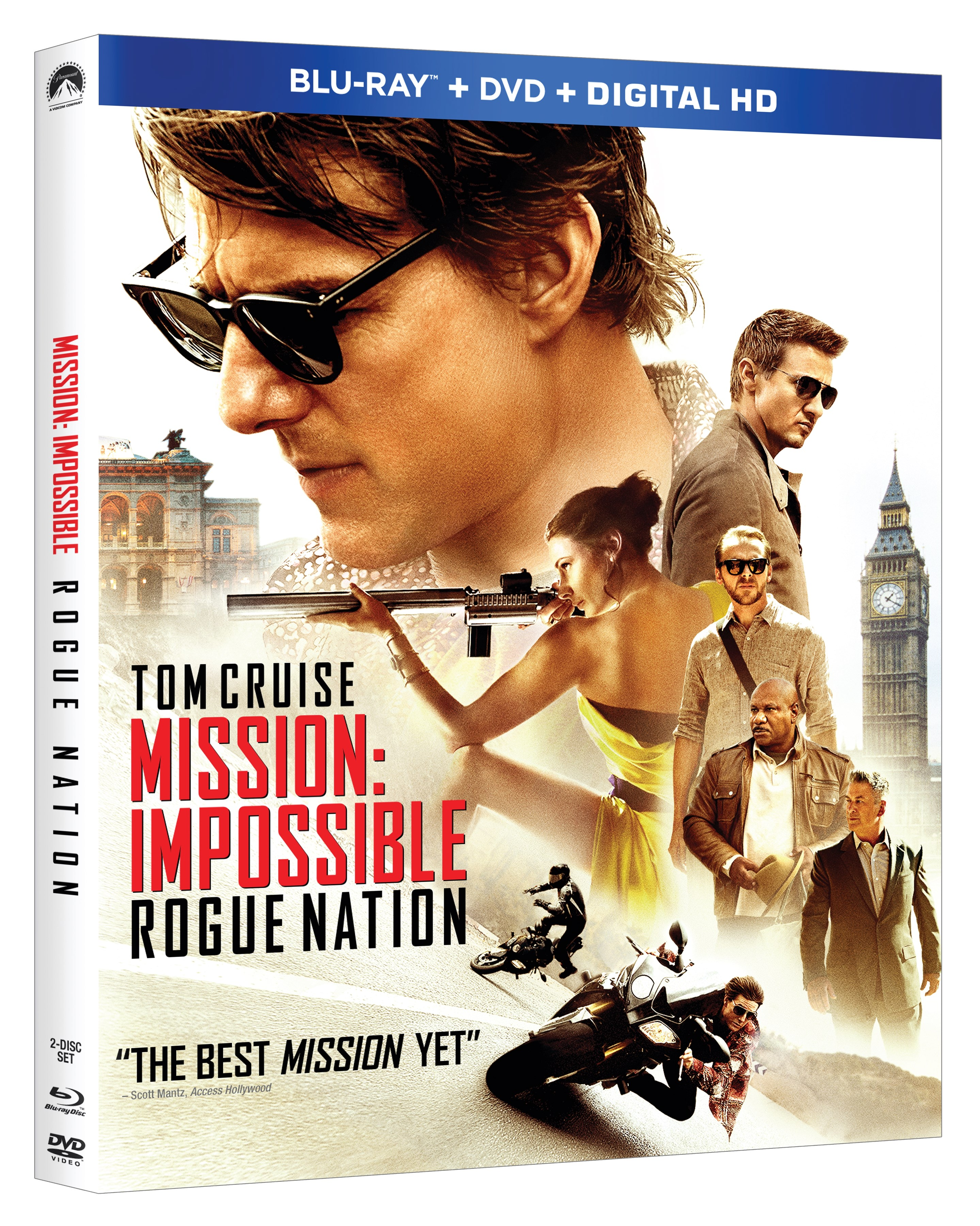 Mission Impossible Rogue Nation Blu-ray Review