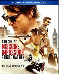Mission Impossible Rogue Nation (Blu-ray + DVD + Digital HD)