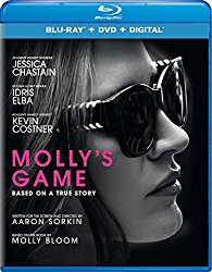 Molly's Game Blu-ray