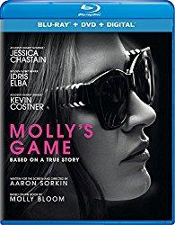 Molly's Game (Blu-ray + DVD + Digital HD)